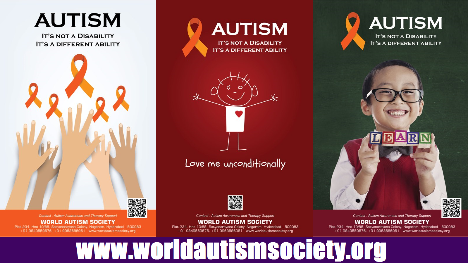 World Autism Society - 2nd April World Autism Awareness Day - Autism Movie
